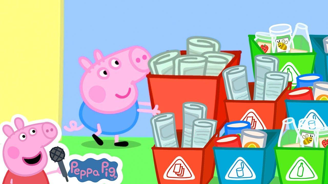 Peppa Pig Recycling Song | Peppa Pig Songs | Peppa Pig Nursery Rhymes & Kids Songs