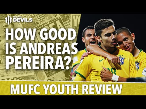 How Good Is Andreas Pereira? | Brazil 1- 2 Serbia | GOAL! | Manchester United