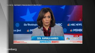 Harris Says 'We Have a Criminal' Living in the White House'
