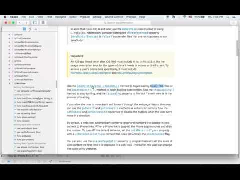 아이폰 스위프트 개발 강좌 - Swift3 iOS MiniBrowser 3