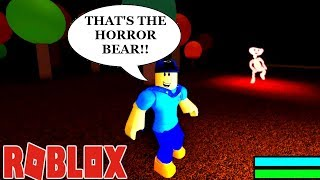 EFC SURVIVES THE HORROR BEAR GAME!! | ROBLOX Simulator