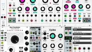 Modular Kick Drum #1 with VCV Rack (Quick Tutorial) - TheKlirrfaktor