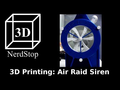3D Printing: Air Raid Siren