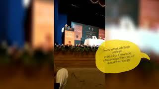 Dr. Satya Pal Singh | Book Launch | Politics for a New India, by Prof ShriPrakash Singh ,Teen Murti