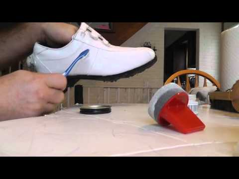White Golf Shoes Cleaning