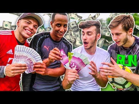 1.000€ FUßBALL CHALLENGE! (1 TOR = 50€)