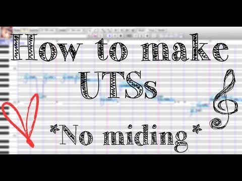 UTAU Tutorial 「How to Make USTs」