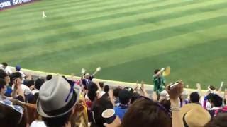 2016/7/16 マツダオールスターゲーム2016 応援団 9回表 応援 1拍子→オリ...