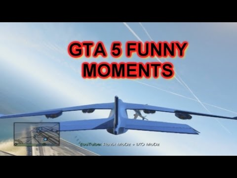 GTA 5 FUNNY MOMENTS WITH FRIENDS || MODDED...