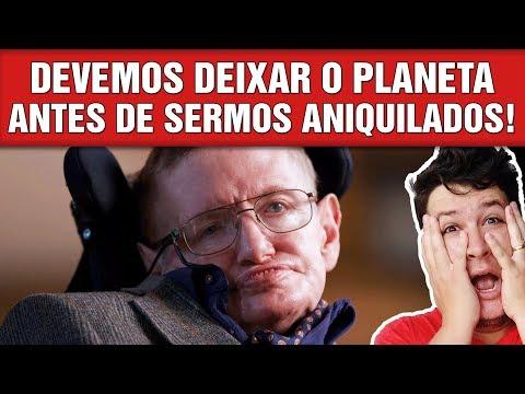 Stephen Hawking: O Último Alerta para o Humanidade! (#764 - Notícias A.)