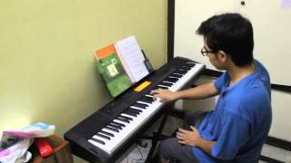 Indian Classical Piano Improvisation