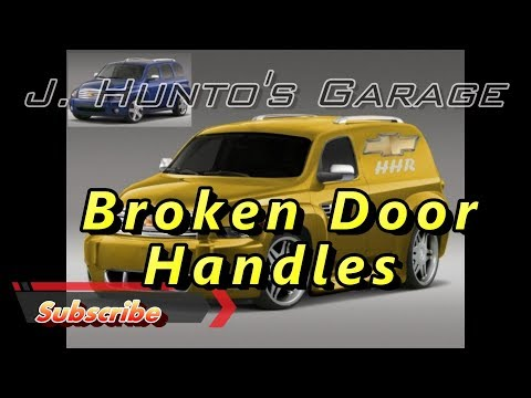 2011 chevy hhr inside door handle replacement