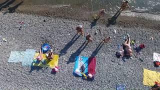 лазаревское море видео