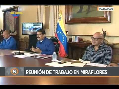 Presidente Maduro compara el plebiscito opositor con el referendo en Cataluña