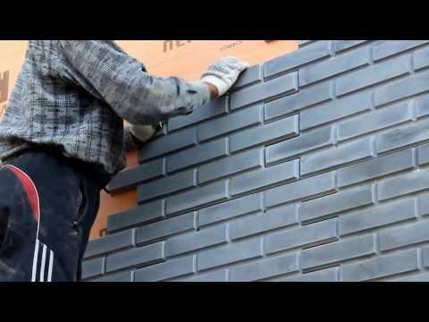 Быстрый монтаж фасадного камня