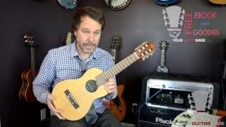 Yamaha Guitalele Review - 6-string Nylon Guitalele