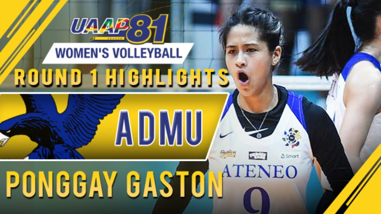 Best Of Ponggay Gaston Admu Uaap 81 Wv Youtube