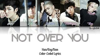 NU EST 뉴이스트 Not Over You Color Coded Han Rom Eng
