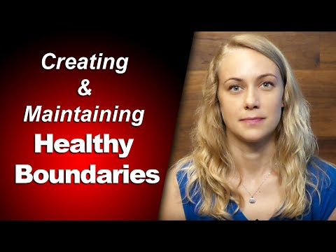 Creating & Maintaining Healthy Boundaries - mental health w Kati Morton