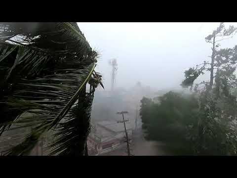 Cyclone fani at bhubaneswar , orissa