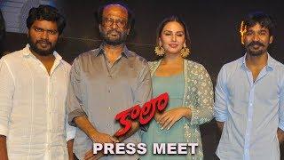 Kaala Movie Press Meet    Rajinikanth, Dhanush, Pa Ranjith