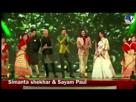 Simanta Shekhar & sayam paul & Shreya Ghoshal||Assamese bihu & bollywood mix