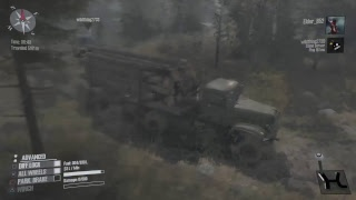 Lets play - Spintires Mudrunner (Crossing Hardcore)