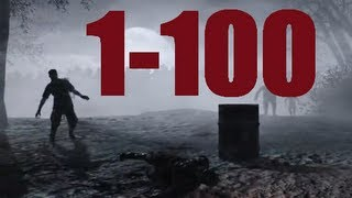Скачать Nacht Der Untoten Rounds 1 100 Full Gameplay World At War Zombies