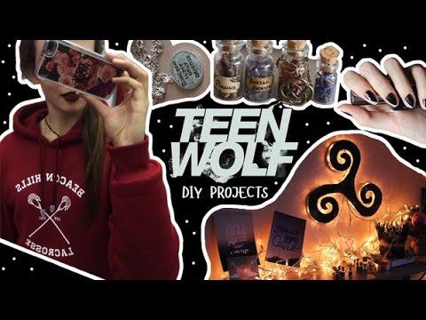 DIY из сериала Волчонок | Teen Wolf DIY ideas decor | Masherisha de