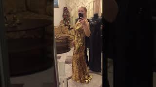 Вечерние платья пайетков на Новый год 2018