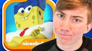 SPONGEBOB: SPONGE ON THE RUN (iPhone Gameplay Video)