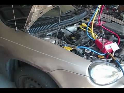 How to pull vacuum on an R134a car AC system
