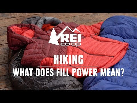 What Does Fill Power Mean? || REI