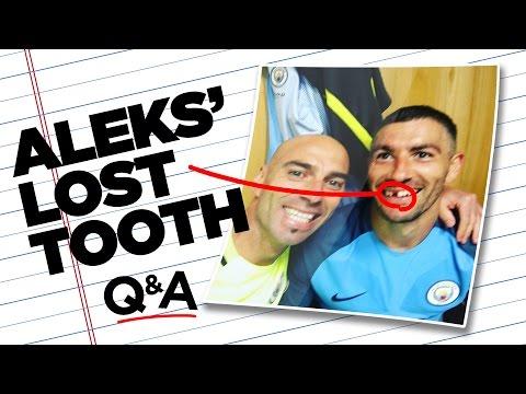 I'M STILL PRETTY WITHOUT MY TEETH! | Aleks Kolarov Quickfire Questions