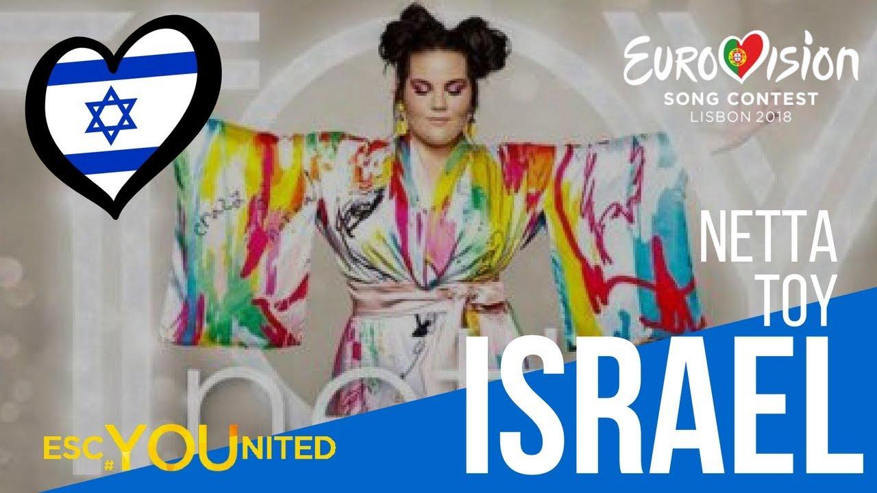 Israel Netta Toy Reaction Video Eurovision 2018 Youtube