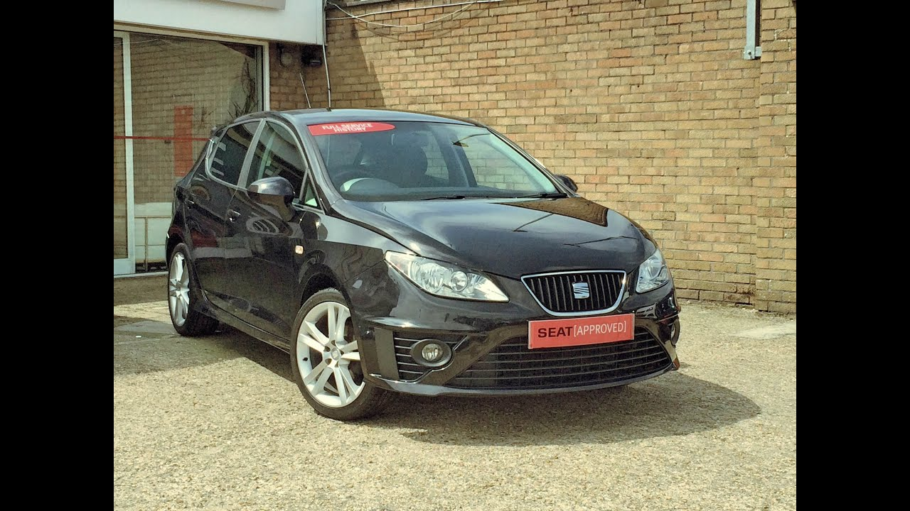 Seat Ibiza 1 4 16v 85 Sport Black 360 Interior Sold By Bartletts In Hastings