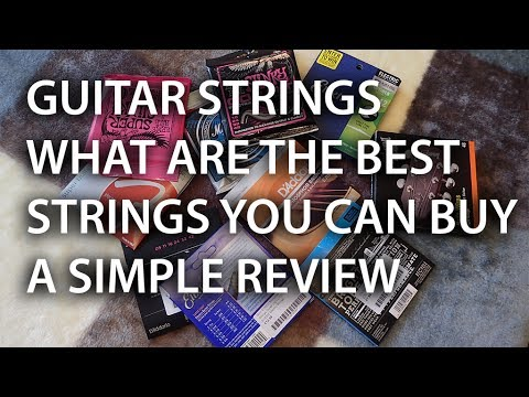 Guitar Strings What are the best strings you can buy a common sense review - tonymckenzie.com