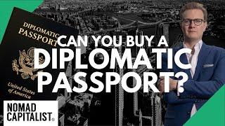 Can You Buy a Dipl๐matic Passport?