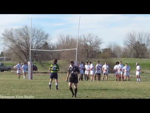Mountain View vs Renegade Rugby 03-18-2016 1st Half