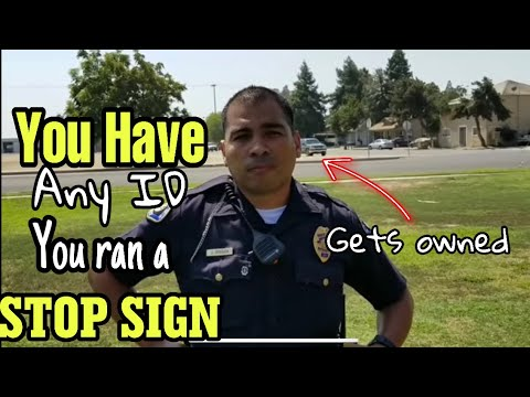 You have any ID  on you? TCCW  (1st amendment)