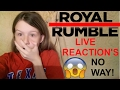 WWE ROYAL RUMBLE LIVE REACTION'S!