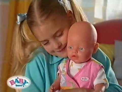 Zapf Baby Born Werbung 2000 Youtube