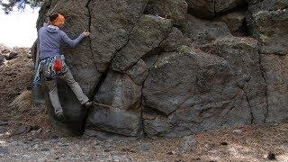 Traditional Climbing: 4. Toe Jamming   Climbing Tech Tips