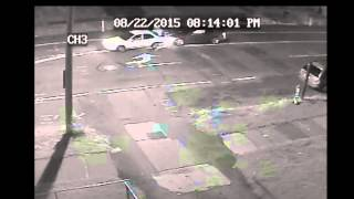 CCTV Accident, Car Crash | 8/22/2015