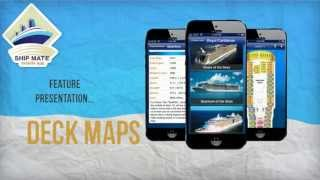 Cruise Ship Deck Plans Feature Demo - Ship Mate Mobile App