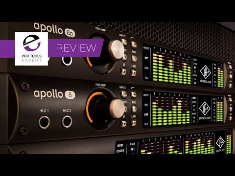 Real World Review Of Universal Audio Apollo 8 & 8P