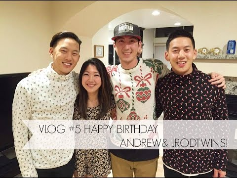 Vlog #5 Happy Birthday Andrew & Jrodtwins