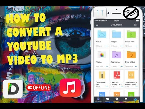 how to convert a youtube video to offline mp3 music