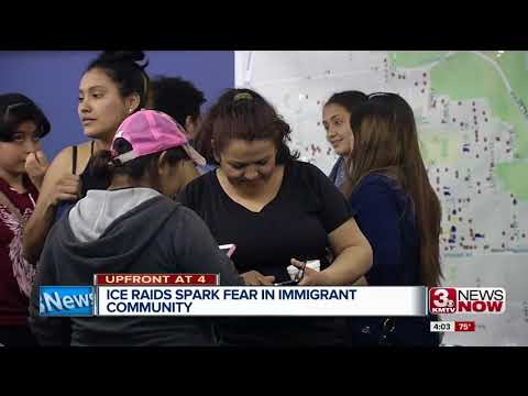 ICE raids spark fear in immigrant community 4pm