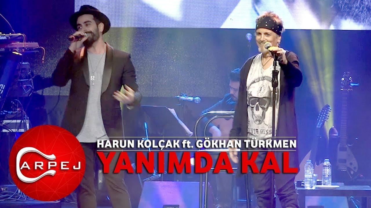 Harun Kolcak Ft Gokhan Turkmen Yanimda Kal 09 04 2017 Bgm Konseri Youtube